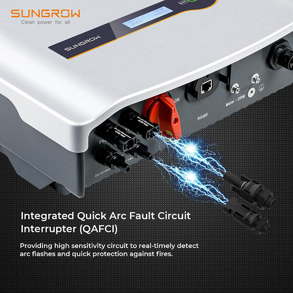 Sungrow-Inverter-Integrated-Quick-Arc-Fault-Circuit-Interrupter