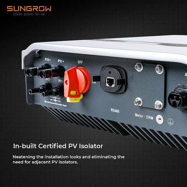 Sungrow-Inverter-In-built-Certified-PV-Isolator