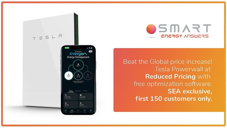 Tesla Powerwall Promo - Beat the global price increase! - featured image