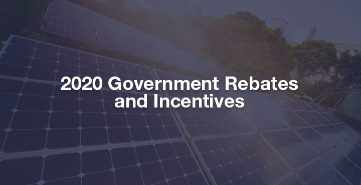 2020 Government Rebates & Incentives - featured image