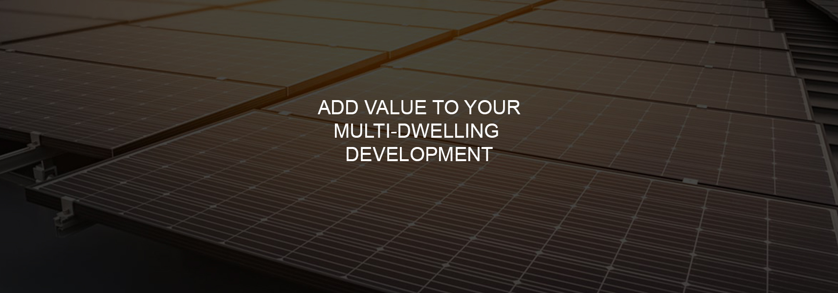 Add value to your multi-dwelling development - featured image