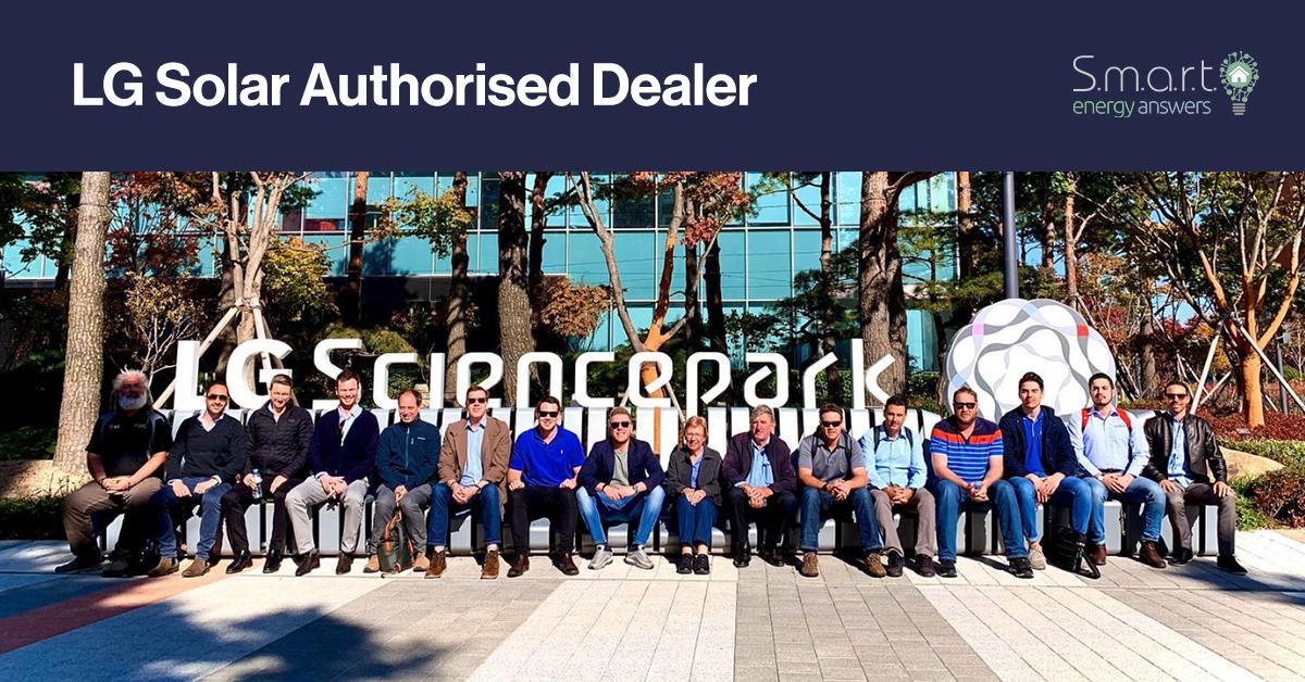 LG Solar Authorised Dealer - Smart Energy Answers - featured image
