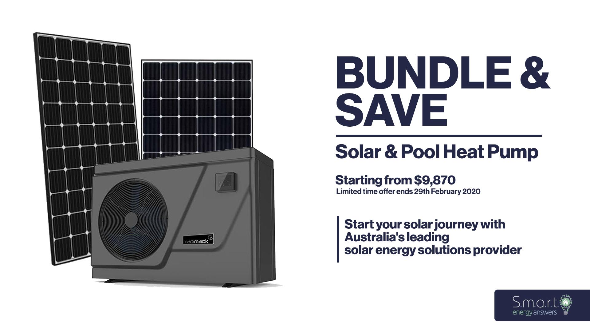 Bundle & Save: Solar & Pool Heat Pump - featured image