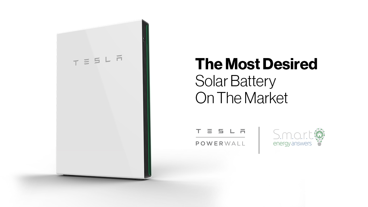The Most Desired Solar Battery On The Market - Tesla Powerwall - featured image