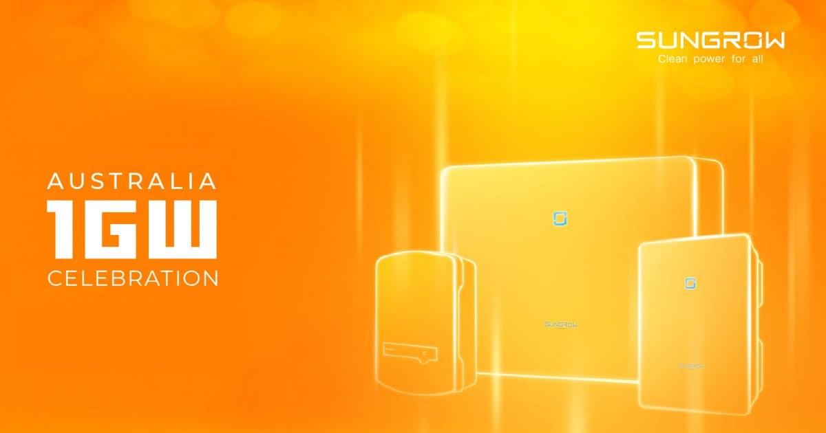 Sungrow Celebrates One Gigawatt of Inverter Installations in Australia - featured image